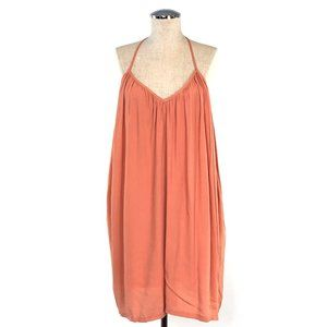 NWT TOBI Oversized Peach Tunic Dress T-Back #F12